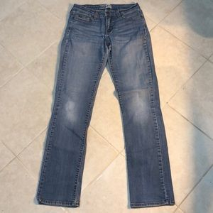 🍎Levi's Signature Mid Rise Straight Jeans, 8